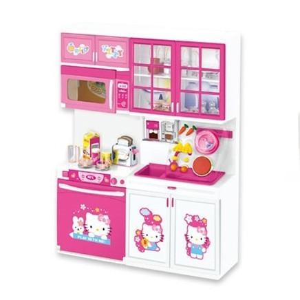 Hello Kitty Modern Kitchen Set Khelaghortoys